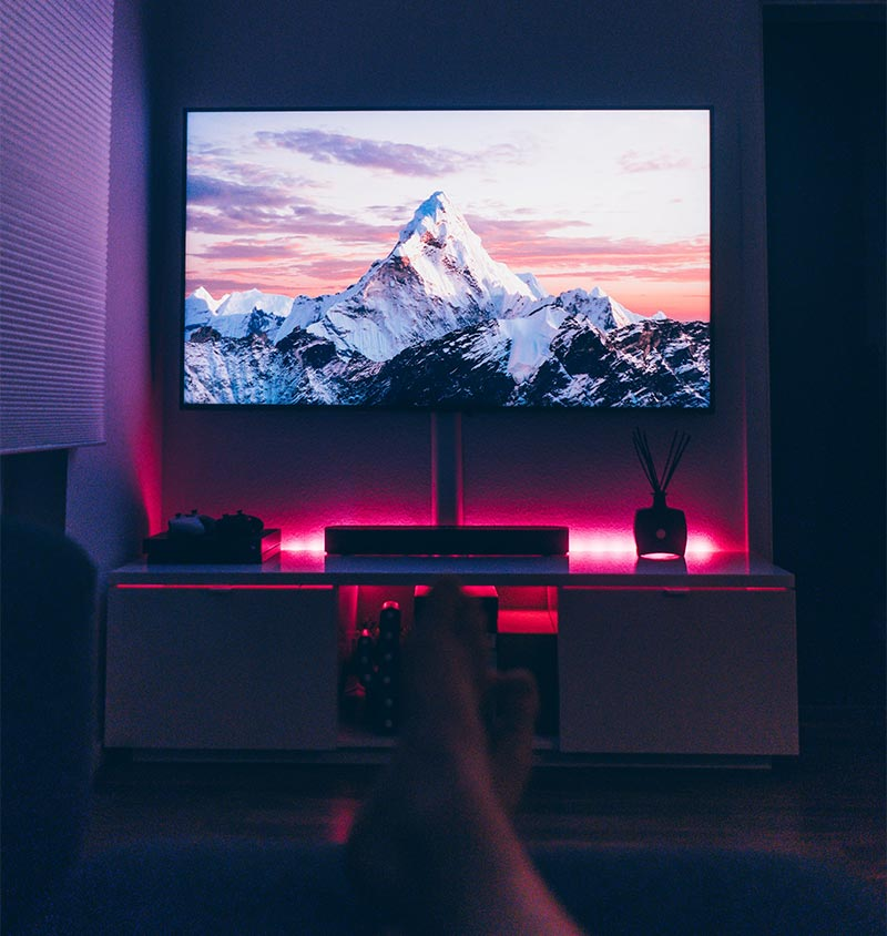 Mounted TV Universal Remote Service Orlando Florida InControlTek   Security Cameras & Surveillance, Cabling & Networking, Audio & Video, Smart Home Automation